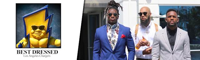<strong>Best dressed: Melvin Gordon</strong>