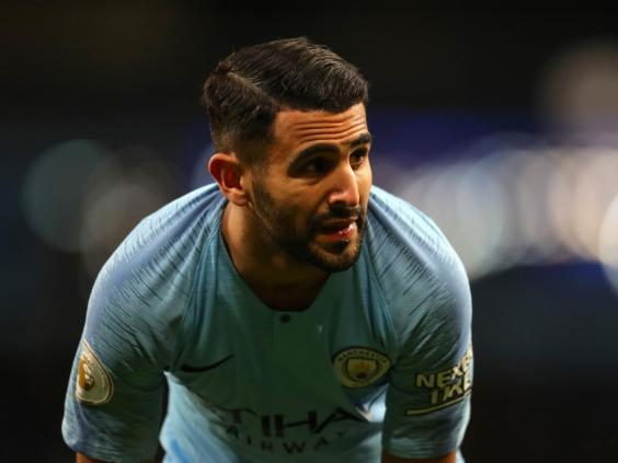 Mahrez was not at home during the burglary (Getty)