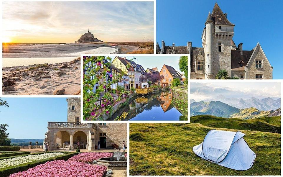 The many charms of France