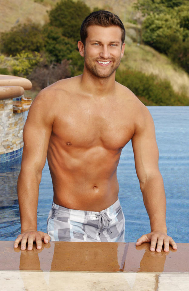 "<b>CHRIS BUKOWSKI (""The Bachelorette"" Season 8, Emily Maynard)</b><br><br><b>Occupation:</b> Corporate Sales Director<br><b>Age:</b> 25<br><b>Residence:</b> Bartlett, IL"