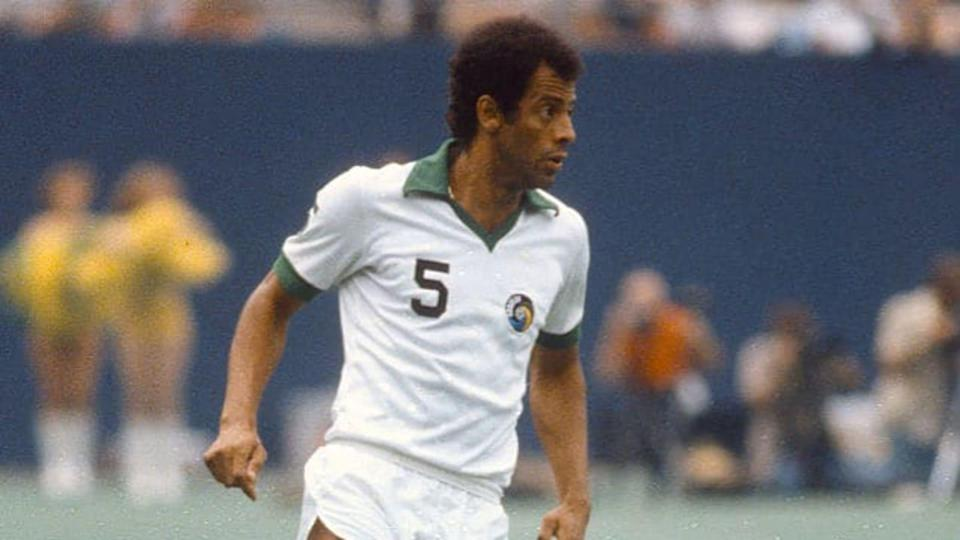 Carlos Alberto con la maglia dei New York Cosmos | Focus On Sport/Getty Images