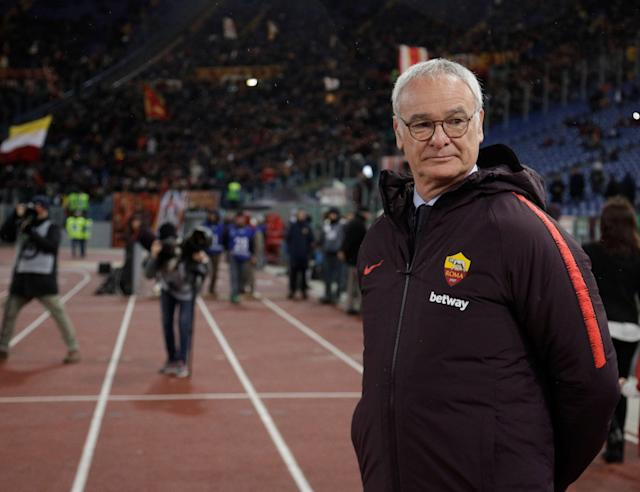 Claudio Ranieri's banged-up Roma side could be in for a rough afternoon against Napoli. (AP)
