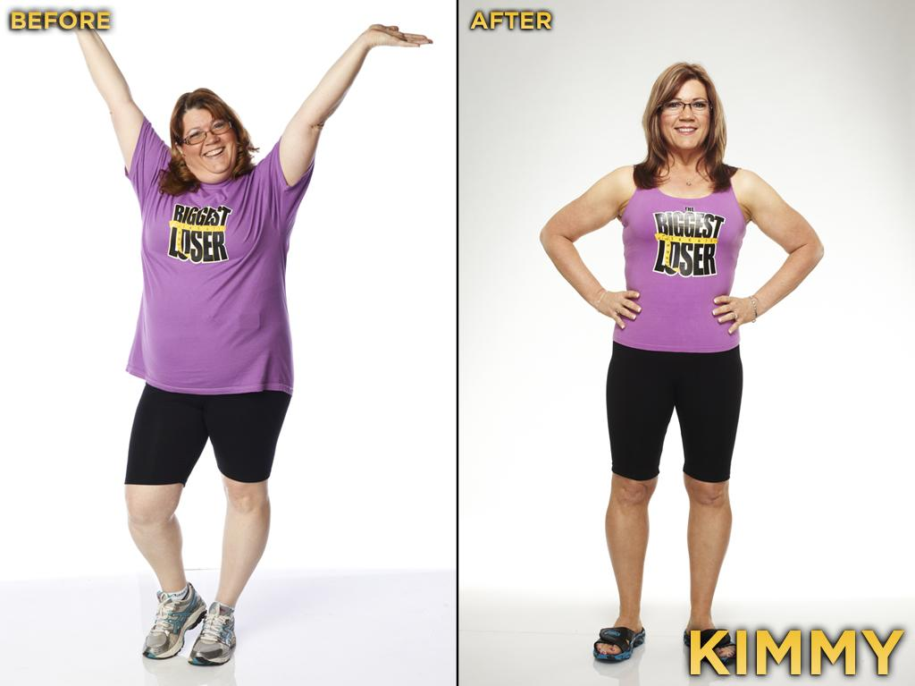 Kimmy is a contestant whom most people didn't notice; she wasn't very loud, wasn't an attention getter, didn't create drama. Instead, she focused on herself and her daughter, and at the end of the experience, she showed America just how strong she has become. She started the competition at 219 pounds, weighed 148 pounds at the finale, and thus lost 32.42% during the season.