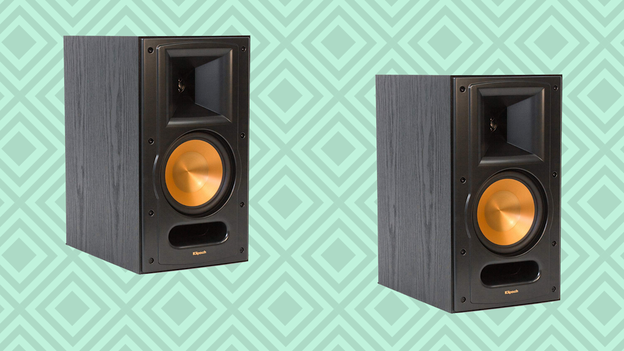 Boost your home audio with Klipsch. (Photo: Amazon/Yahoo Lifestyle)