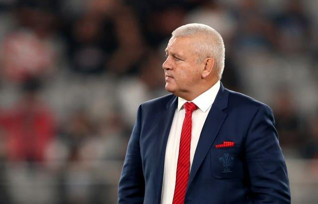 British and Irish Lions coach Warren Gatland was in Dublin to watch Ireland's comprehensive win over England