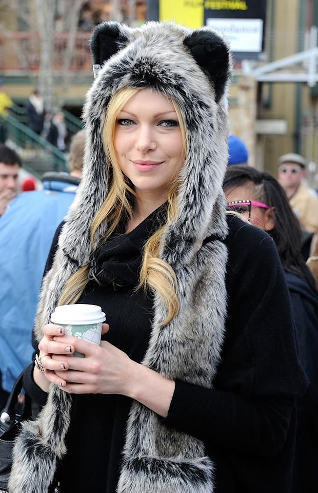Laura Prepon is seen out and about during the 2012 Sundance Film Festival in Park City, Utah on January 20, 2012.