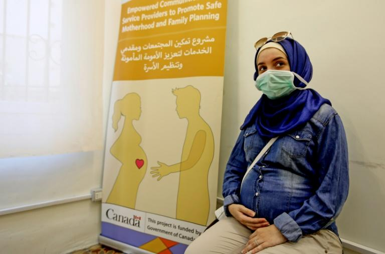 Terrified mothers-to-be adjust after Beirut blast