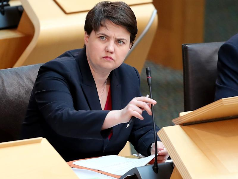 Scottish Conservative leader Ruth Davidson: PA