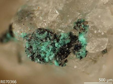 Minerals formed either deliberately or as an unintentional byproduct of human activities.  REUTERS/RRUFF via Carnegie Institution for Science