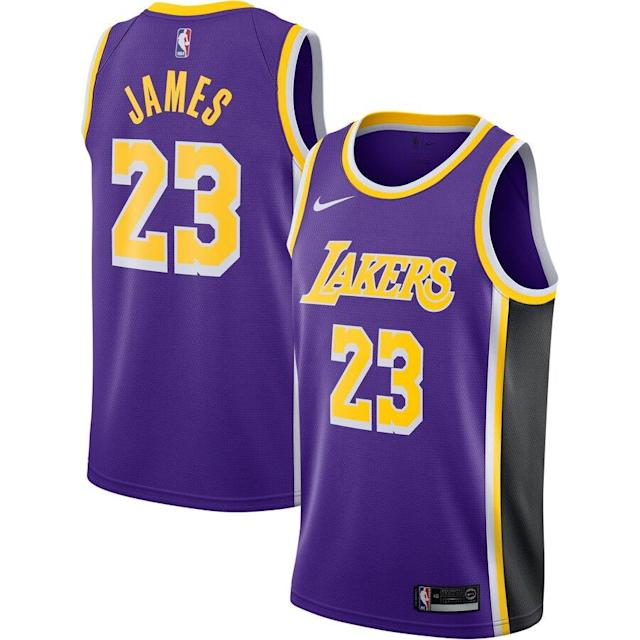 James Nike Swingman Jersey