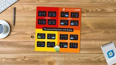The Accounting Game with Buddy is a downloadable game board that you can play alone or with others. The game is a fun and easy way to learn basic accounting, and is great for a wide variety of people. From students to managers, The Accounting Game with Buddy will serve as an enjoyable guide to the fundamentals of accounting!