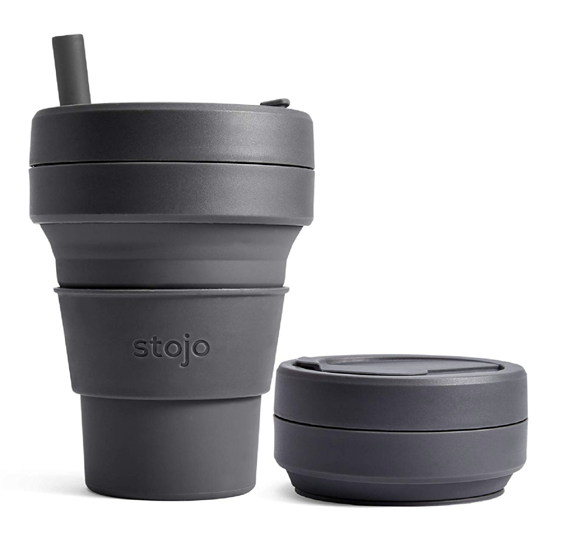 Stojo Collapsible and Reusable To-Go Coffee Cup