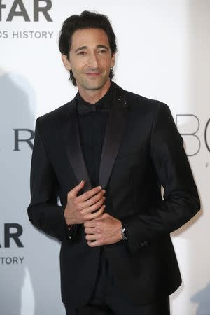Actor Adrian Brody arrives for amfAR's Cinema Against AIDS 2014 event in Antibes
