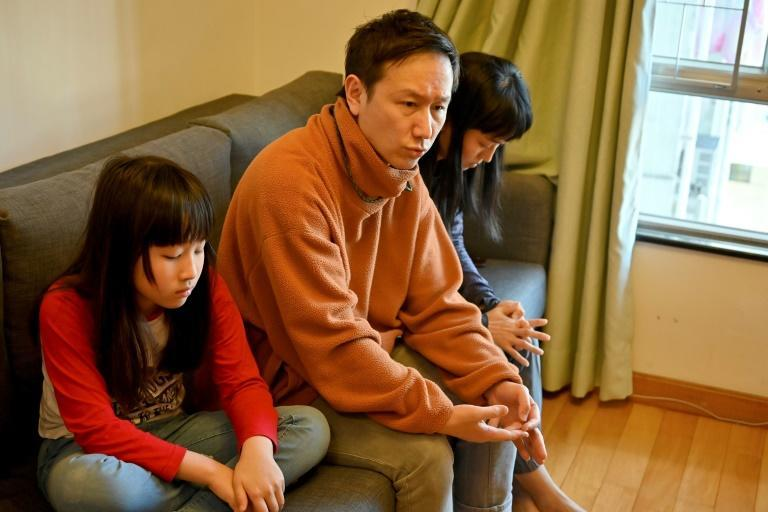"""Billy Wong and Eileen Yeung said they plan to leave Hong Kong so their daughter Tinyu can """"think freely"""""""