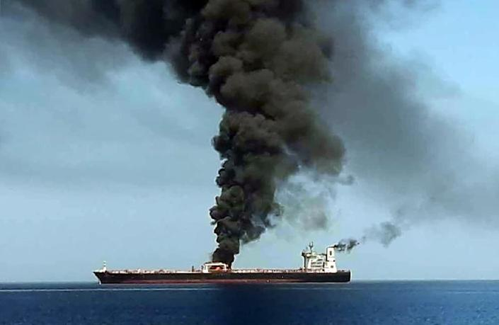 The fallout from tanker attacks in the Strait of Hormuz has rattled the maritime industry (AFP Photo/HO)