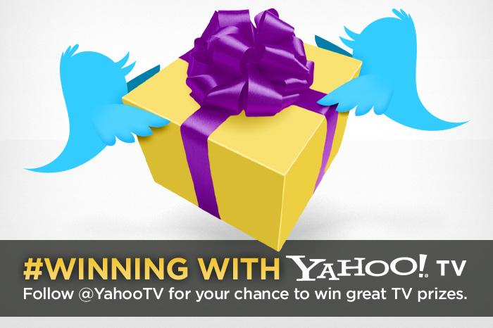 Click through this slideshow to see previous Yahoo! TV giveaway winners.