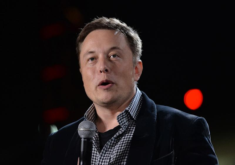 PayPal billionaire Elon Musk is co-founder and CEO of Tesla as well as chief of rocket maker SpaceX (AFP Photo/Mark Ralston)