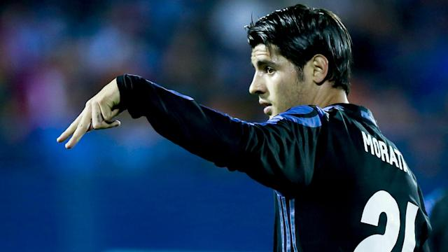 Alvaro Morata will not allow himself to be distracted by rumours linking him with Chelsea at a crucial point of Real Madrid's season.