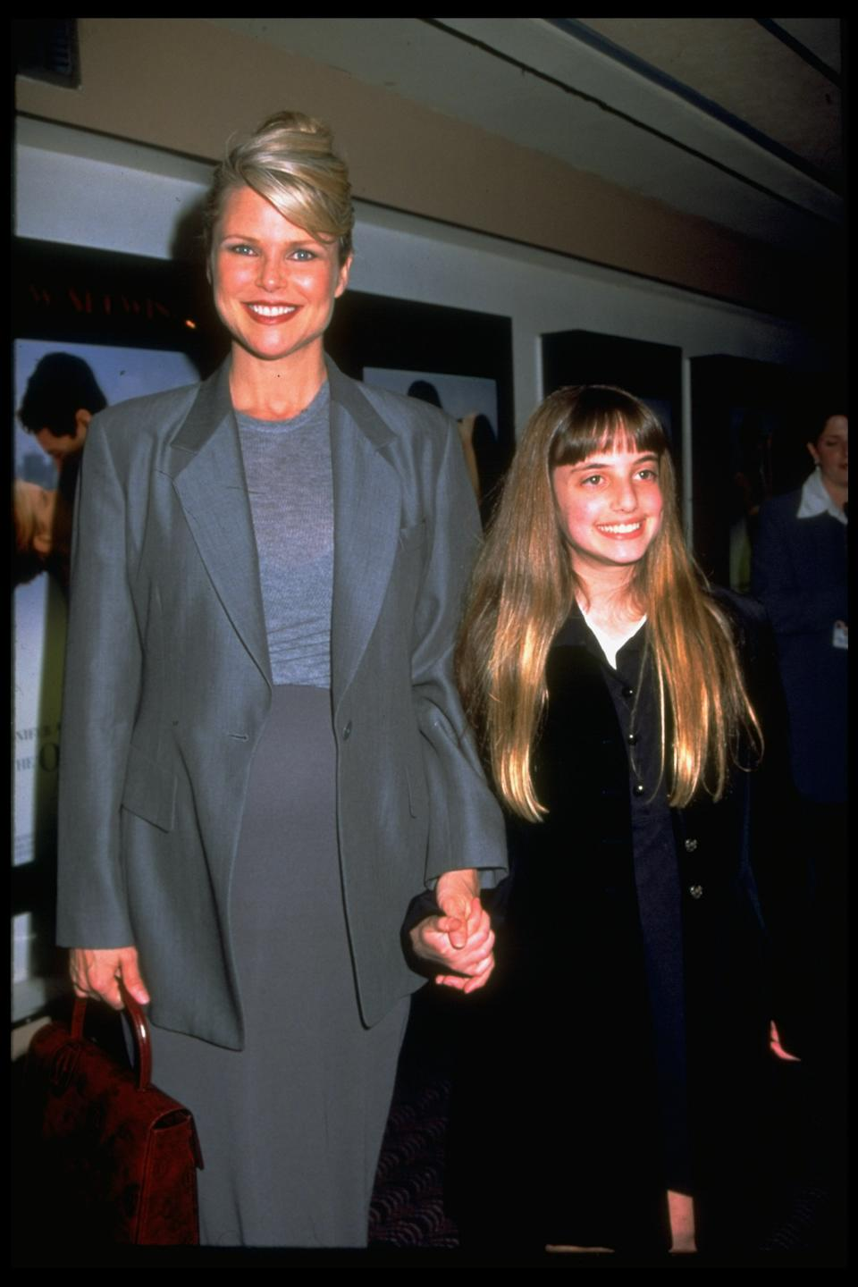 Alexa Ray Joel at age 12 with her mother, Christie Brinkley. (Photo: Robin Platzer/Twin Images/The LIFE Images Collection via Getty Images/Getty Images)