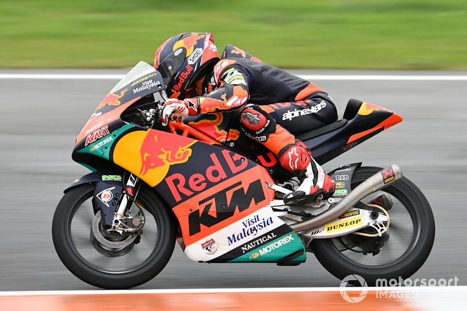 "Kaito Toba, Red Bull KTM Ajo<span class=""copyright"">Gold and Goose / Motorsport Images</span>"