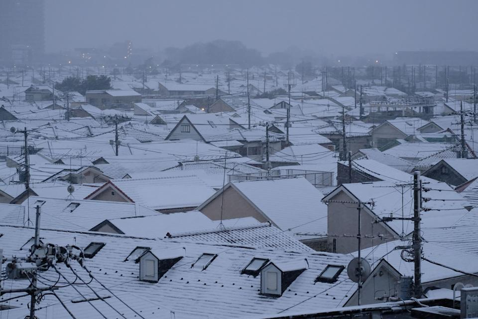 "Northern Japan saw just 38 percent of its average snowfall in December 2019, with only a ""little"" snow seen in western Japan, the country's meteorological agency said."