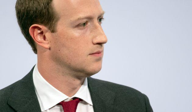 15 February 2020, Bavaria, Munich: Mark Zuckerberg, Chairman of Facebook, speaks at the 56th Munich Security Conference. Photo: Sven Hoppe/dpa (Photo by Sven Hoppe/picture alliance via Getty Images) (Photo: picture alliance via Getty Images)