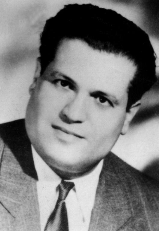 A undated file photo of Algerian lawyer Ali Boumendjel, who was also a member of underground resistance Algerian Liberation Front (FLN).