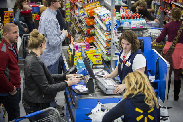 Walmart's in-store associates may soon become delivery people, too.