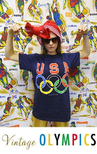 Ready, Set, GO Beyond Retro! Vintage Sportswear Is On Track For The Summer Olympics