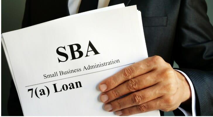 Documents for a loan from the SBA