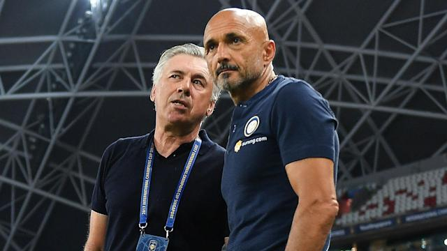 Luciano Spalletti has been linked with the Italy job but the Inter boss believes Carlo Ancelotti is the right man for the Azzurri.
