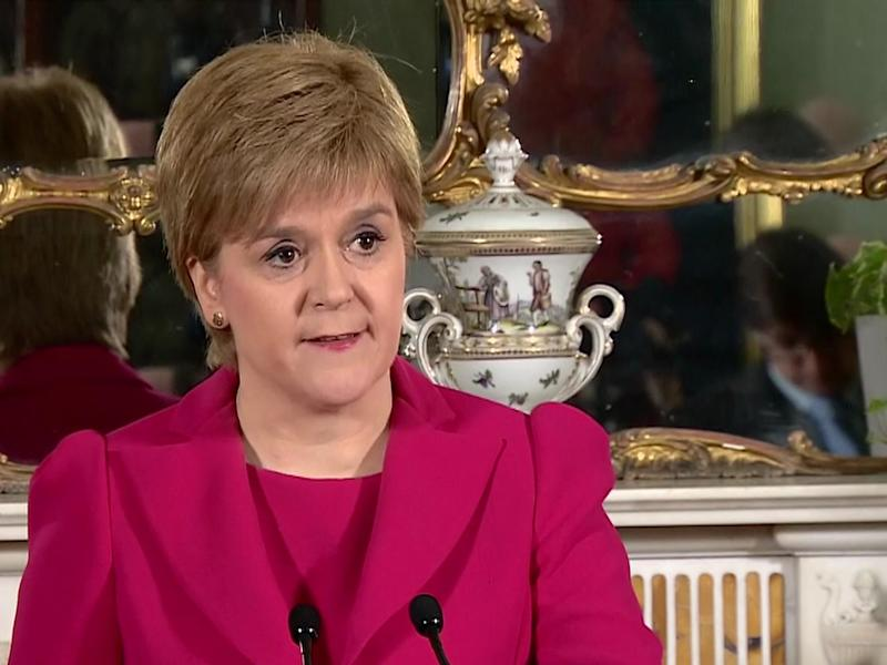 Nicola Sturgeon announced that she intends to push forward with indyref2: BBC News