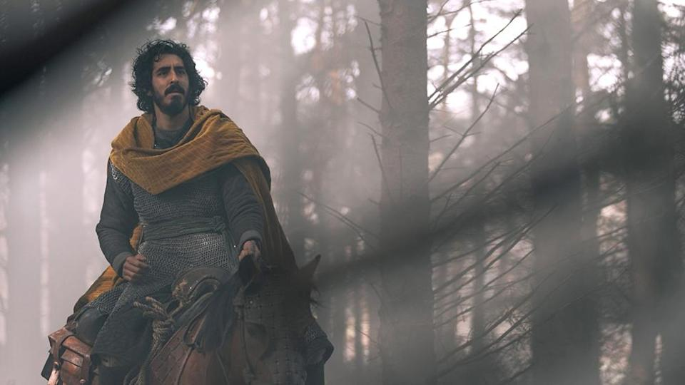 THE GREEN KNIGHT, Dev Patel as Gawain, 2021. ph: Eric Zachanowich / © A24 / courtesy Everett Collection - Credit: Courtesy of A24/Everett Collection