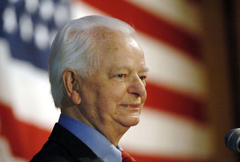 """Robert C. Byrd was the longest-serving senator in U.S. history before he passed away in 2010. However, before Byrd's long and highly regarded political career, he was a leader of the Ku Klux Klan in West Virginia. <br> <br> There is at least <a href=""""http://www.harcoboe.com/robertcbyrdhighschool/"""" target=""""_blank"""">one high school named after Robert Byrd</a> in Clarksburg, W.Va. There are also buildings and centers named after Byrd at academic institutions like <a href=""""https://musom.marshall.edu/facilities/byrd-biotech-center.asp"""" target=""""_blank"""">Marshall University</a>, <a href=""""http://home.hsc.wvu.edu/"""" target=""""_blank"""">West Virginia University</a>, <a href=""""http://www.shepherd.edu/university/tour/buildings/byrd_center.html"""" target=""""_blank"""">Shepherd University</a>, the <a href=""""http://www.ucwv.edu/uploadedFiles/University_of_Charleston/Visiting_Campus/uc_campus_map.pdf"""" target=""""_blank"""">University of Charleston</a>, and <a href=""""http://www.wju.edu/about/history/bldgs/byrd.asp"""" target=""""_blank"""">Wheeling Jesuit University</a>. <br> <br> Byrd started a local chapter of the KKK during the early 1940s and soon became its leader. While it is unclear how long Byrd was a member of the Klan, by the time he ran for Congress in 1952, <a href=""""http://www.washingtonpost.com/wp-dyn/content/article/2005/06/18/AR2005061801105_pf.html"""" target=""""_blank"""">he had publicly renounced his involvement with the organization</a>. According to CNN, Byrd later called his involvement with the KKK """"<a href=""""http://www.cnn.com/2009/POLITICS/11/18/robert.byrd.congress.record/index.html?eref=rss_politics"""" target=""""_blank"""">the most egregious mistake I've ever made</a>."""" <br> <br> While as a legislator <a href=""""http://www.nytimes.com/2010/06/29/us/politics/29byrd.html?pagewanted=all"""" target=""""_blank"""">Byrd initially filibustered against the Civil Rights Act of 1964</a>, he later earned <a href=""""http://www.naacp.org/press/entry/naacp-mourns-the-passing-of-u.s.-senator-robert-byrd"""" target=""""_blank"""">high marks """
