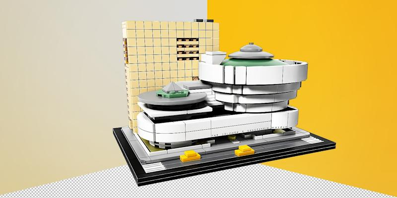 This may be the closest you'll ever come to being an architect. With Lego's architecture collection you can build the world's most famous structures and feel damn proud afterwards. SHOP NOW: Solomon R. Guggenheim Museum® by Lego, $80, shop.lego.com