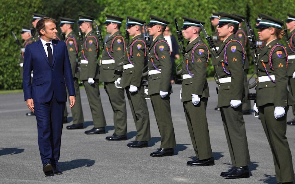 Why a European Union army will only benefit France - Peter Morrison /AP