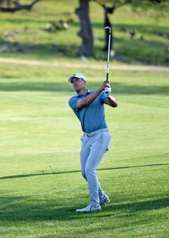 American Jordan Spieth has a share of second place alongside Matt Wallace, two strokes behind leader Cameron Tringale, after 36 holes in the US PGA Tour Texas Open