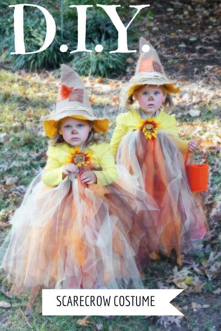 """<p>Anyone with a brain (and a penchant for tulle) will fall for these creative scarecrow costumes for sisters.</p><p><strong>Get the tutorial at <a href=""""https://www.designertrapped.com/diy-scarecrow-tutu-halloween-costume/"""" rel=""""nofollow noopener"""" target=""""_blank"""" data-ylk=""""slk:Designer Trapped"""" class=""""link rapid-noclick-resp"""">Designer Trapped</a>.</strong></p><p><strong><a class=""""link rapid-noclick-resp"""" href=""""https://www.amazon.com/gp/product/B007Q2JIMG/WHEX2NW?tag=syn-yahoo-20&ascsubtag=%5Bartid%7C10050.g.21530121%5Bsrc%7Cyahoo-us"""" rel=""""nofollow noopener"""" target=""""_blank"""" data-ylk=""""slk:SHOP TULLE"""">SHOP TULLE</a></strong></p>"""