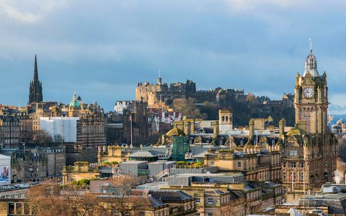 The castle is a major tourist attraction - Chris Watt Photography