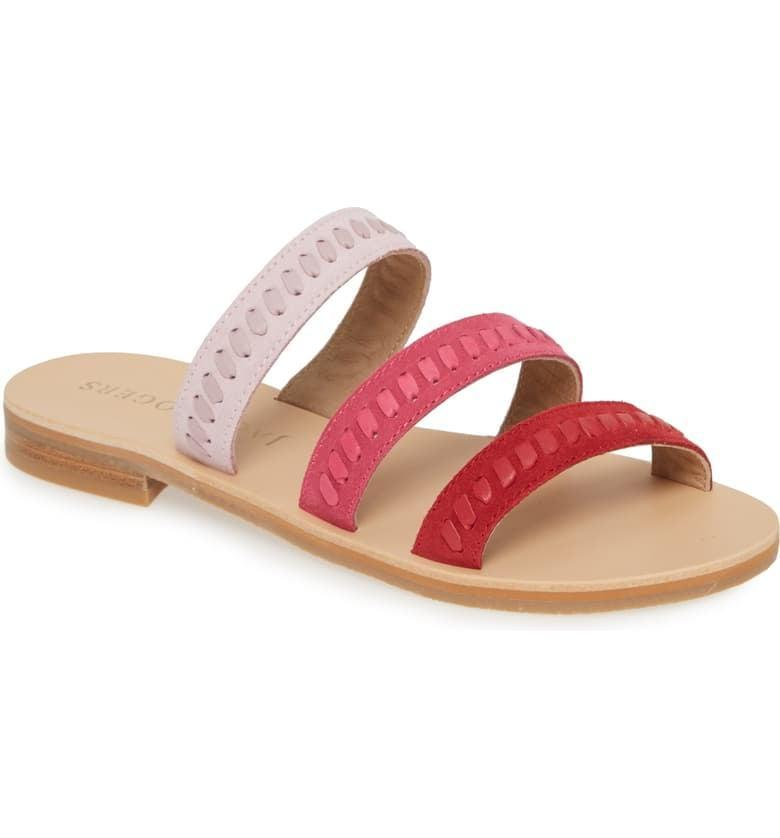<p>The ombré effect of these <span>Jack Rogers Amelia Slide Sandals</span> ($128) is so cute.</p>