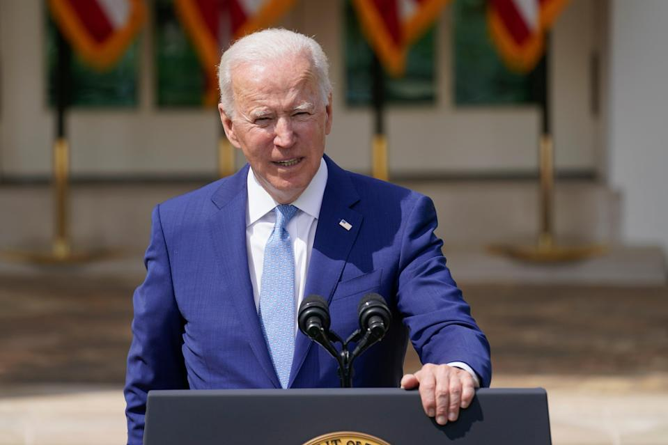 <p>Hundreds of companies are urging President Biden to set an ambitious emissions reduction target </p> (Copyright 2021 The Associated Press. All rights reserved)