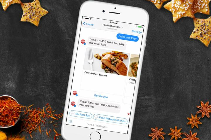 food-network-chatbot-messenger