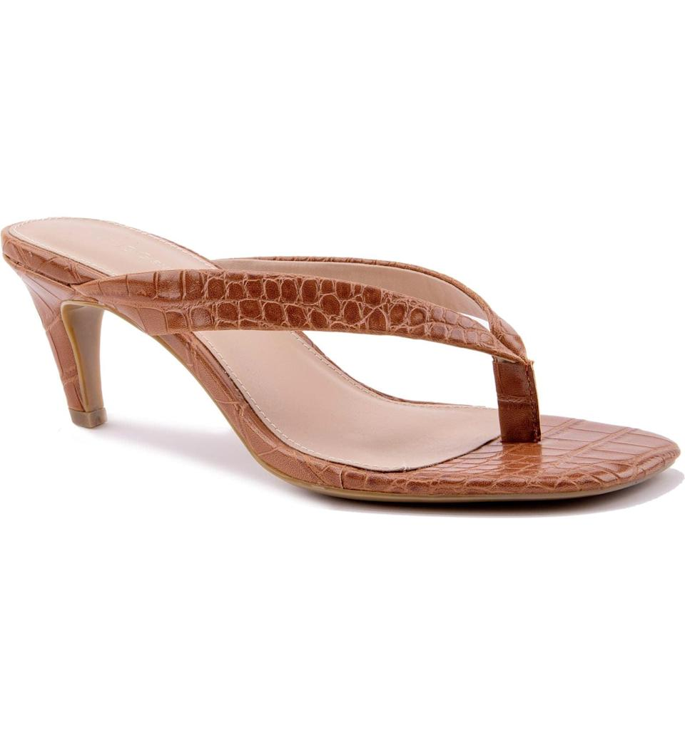 <p>This <span>BCBGeneration Tabina Flip Flop</span> ($79) isn't your average sandal. It's a refined take on a classic style with definitive staying power.</p>