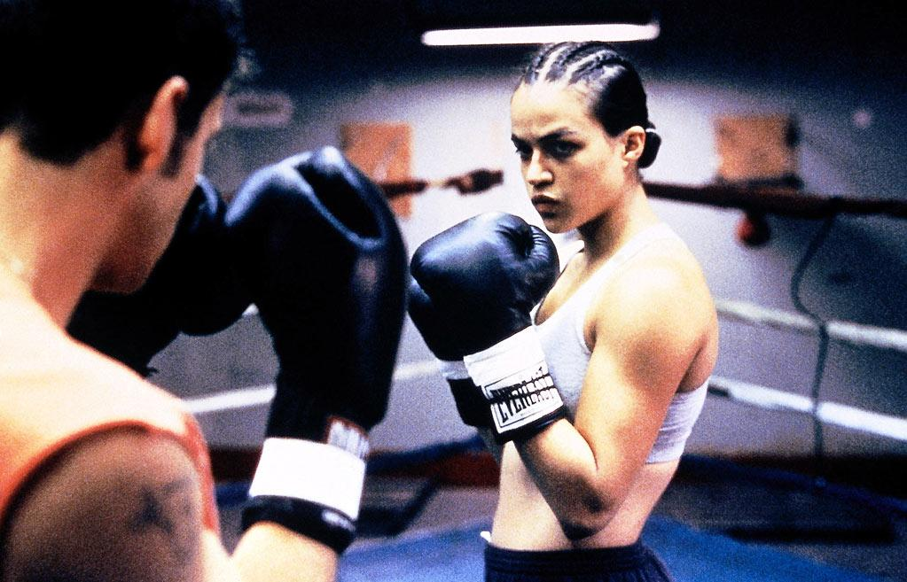 "<a href=""http://movies.yahoo.com/movie/1800354259/info"">Girlfight</a> (2000): Before Swank in ""Million Dollar Baby,"" Michelle Rodriguez blazed a trail here as a determined teen from the Brooklyn projects who rebels against her father and insists she should train to be a boxer. A then-unknown Rodriguez burst onto the scene with her film debut, showing the sultry strength and intensity that would become her trademarks, and this tough little indie shared top honors that year at the Sundance Film Festival. Director Karyn Kusama went on to make some lousy movies after this -- ""Aeon Flux,"" ""Jennifer's Body"" -- but her first one was a knockout."
