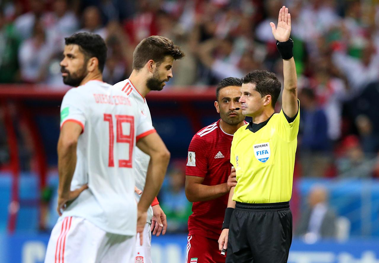 World Cup Mystery: What language to refs speak to players?