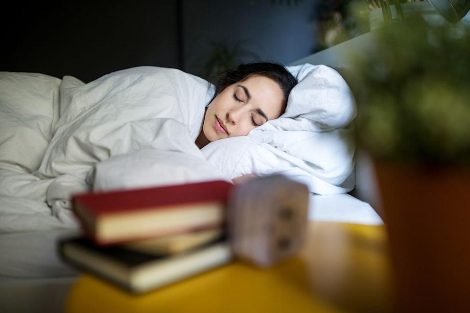 <p>The right amount of zzz's supports a strong heart and helps you get slim (or stay that way). Aim for seven to eight hours a night, and try to wake up and hit the sheets at the same times every day (even on weekends!) to keep your body's internal clock happy. It's also important to manage stress — over time, it can mess with your hormones and sabotage your weight goals. Find a chill routine: meditation, a hot soak, or a good read.</p>