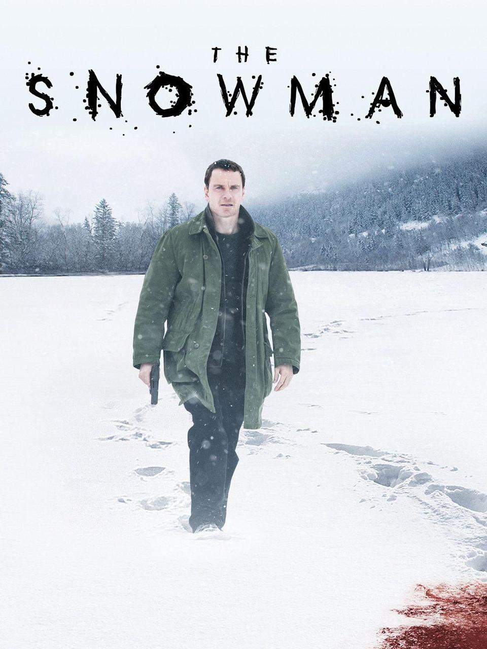 """<p>A detective fears a serial killer is on the loose in this movie adaptation of the <em>New York Times</em> best-selling novels by Jo Nesbø. </p><p><a class=""""link rapid-noclick-resp"""" href=""""https://www.amazon.com/Snowman-Michael-Fassbender/dp/B076HBCJ58/?tag=syn-yahoo-20&ascsubtag=%5Bartid%7C10050.g.25336174%5Bsrc%7Cyahoo-us"""" rel=""""nofollow noopener"""" target=""""_blank"""" data-ylk=""""slk:WATCH NOW"""">WATCH NOW</a></p>"""