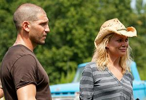 Jon Bernthal and Laurie Holden | Photo Credits: Bob Mahoney/AMC