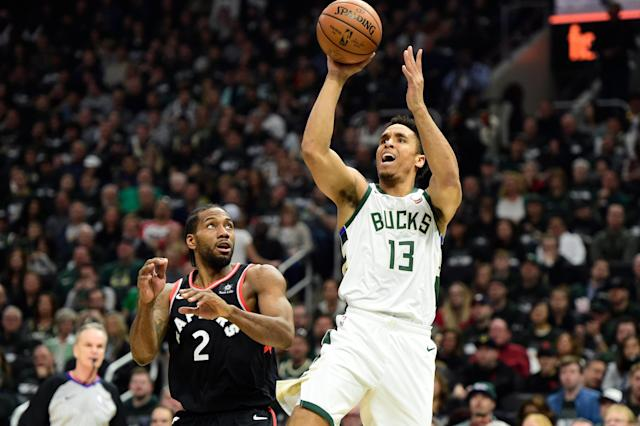 After the Bucks cruised to a dominant Game 2 win, Charles Barkley donated $45,000 to Malcolm Brogdon's charity to help build a new well in East Africa. (Frank Gunn/AP)