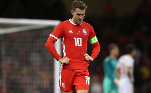 Aaron Ramsey faces a race to be fit (Nick Potts/PA).